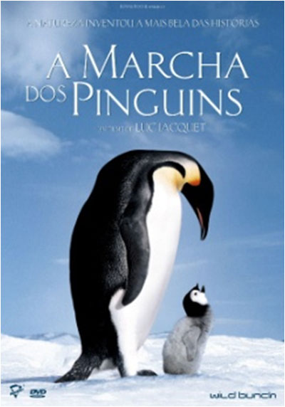 Cover of A marcha dos pinguins