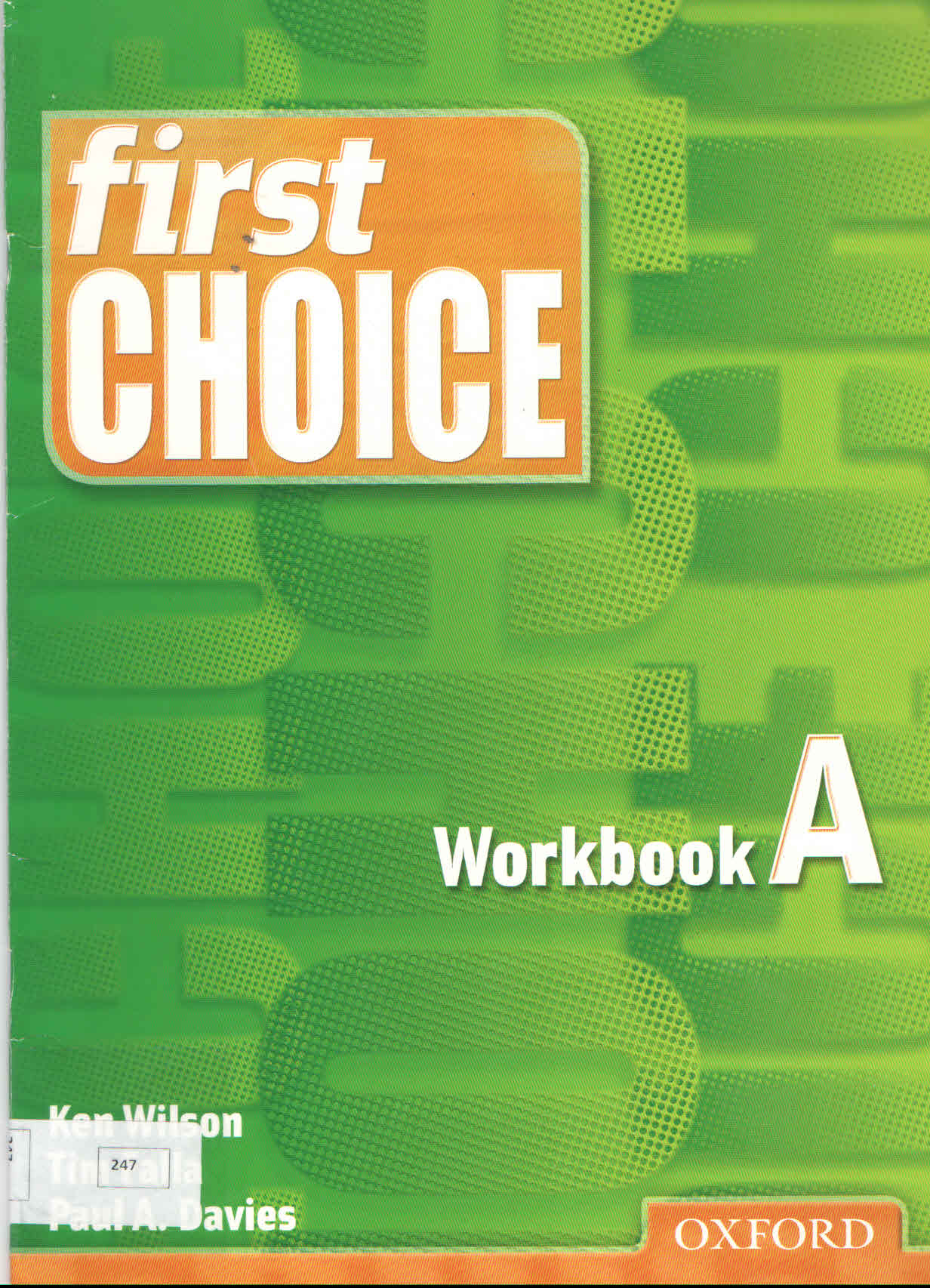 Cover of First Choice