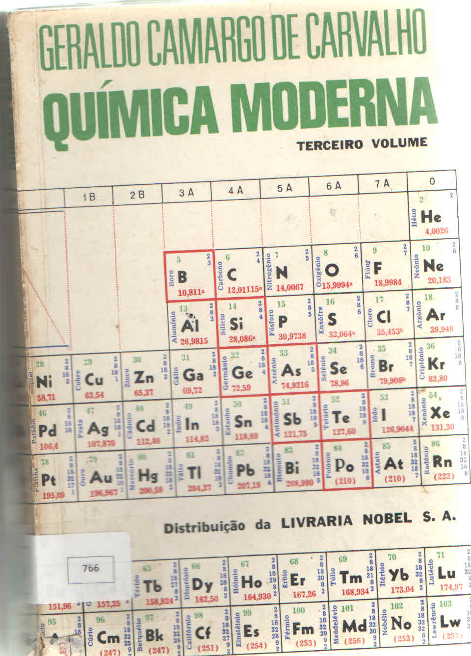 Cover of Química Moderna